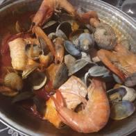 Cataplana de fruits de mer