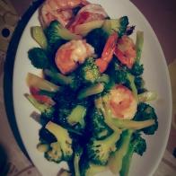 légumes croquants sautés à la fécule de pomme de terre