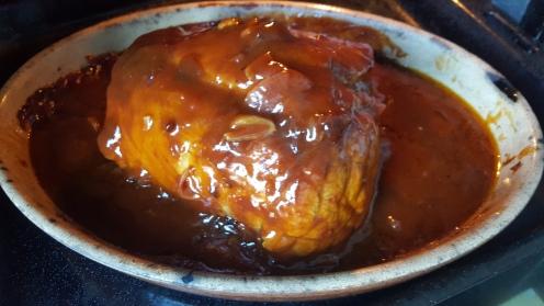 1 heure de cuisson, viande arrosée